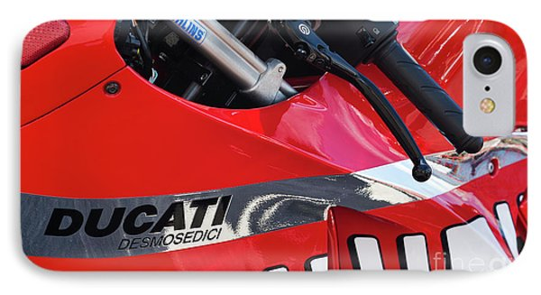 Ducati Desmosedici Abstract  IPhone Case by Tim Gainey