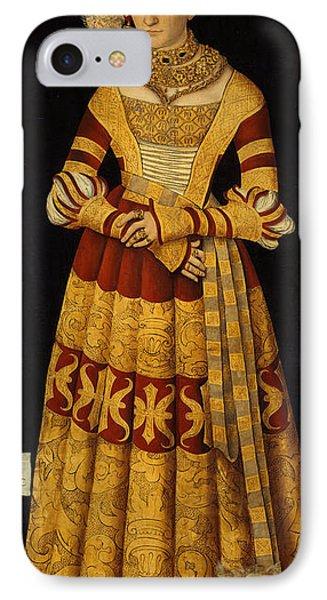 Duchess Katharina Von Mecklenburg Three Graces IPhone Case