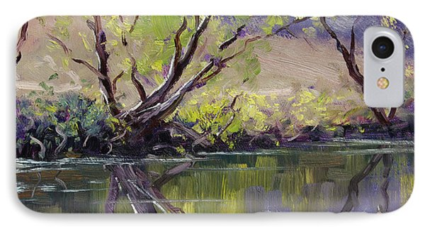 Duckmaloi River Reflections IPhone Case by Graham Gercken