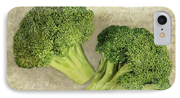 Due Broccoletti IPhone 7 Case by Guido Borelli