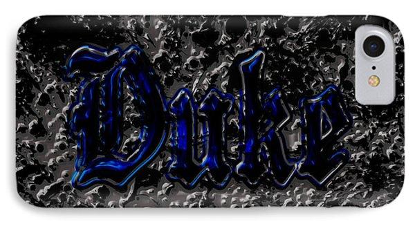 Duke Blue Devils 1d IPhone Case