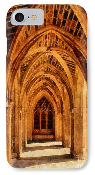 Duke Chapel Phone Case by Betsy Foster Breen