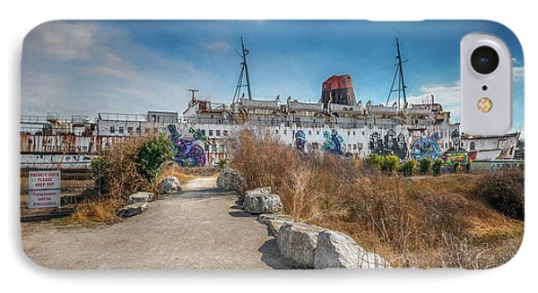 IPhone Case featuring the photograph Duke Of Lancaster Graffiti by Adrian Evans