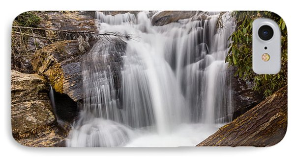 Dukes Creek Falls IPhone Case by Michael Sussman
