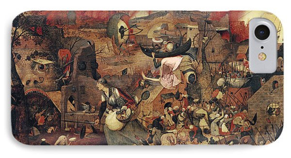 Dull Gret IPhone Case by Pieter the Elder Bruegel
