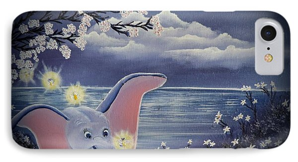 Dumbo IPhone Case by Dianna Lewis