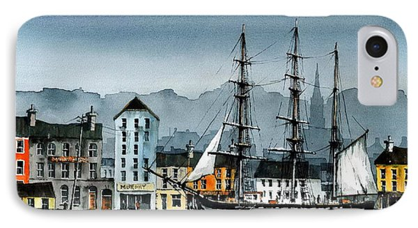 Dunbrody In New Ross IPhone Case by Val Byrne