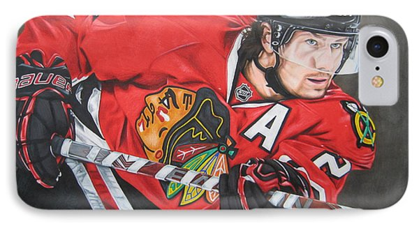 Duncan Keith Phone Case by Brian Schuster