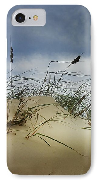 Dune And Beach Grass IPhone Case by Randall Nyhof