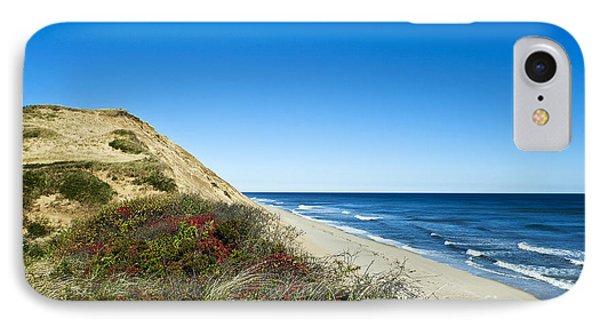 Dune Cliffs And Beach Phone Case by John Greim