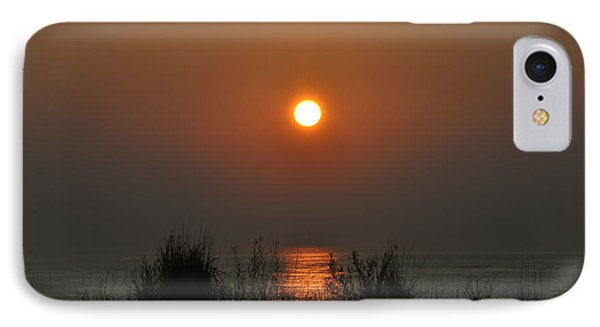 Dune Grass Sunrise Phone Case by Bill Cannon