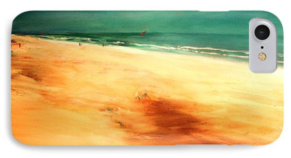 IPhone 7 Case featuring the painting Dune Shadows by Winsome Gunning