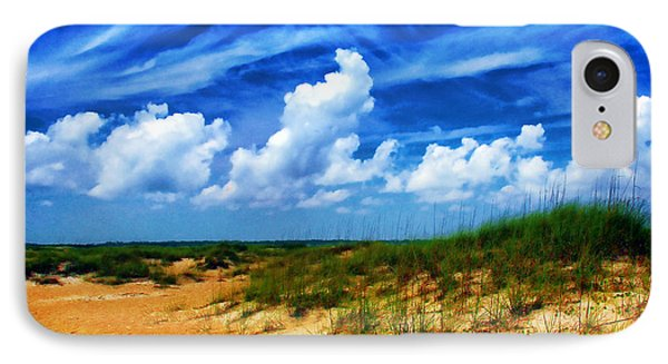 Dunes At Bald Head Island IPhone Case by Judi Bagwell