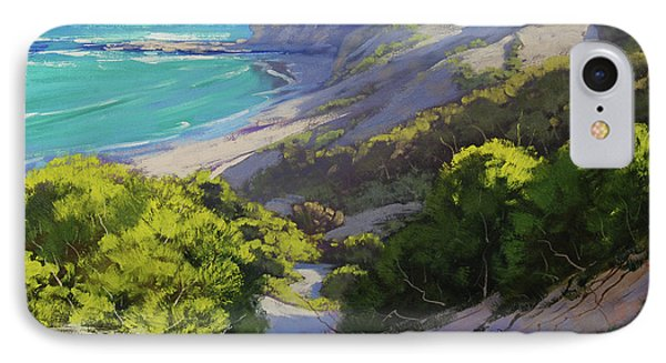 Dunes At Slodiers Beach IPhone Case by Graham Gercken