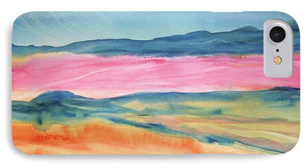 IPhone Case featuring the painting Dunes by Ellen Levinson