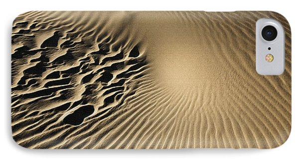 Dunes Footprints IPhone Case