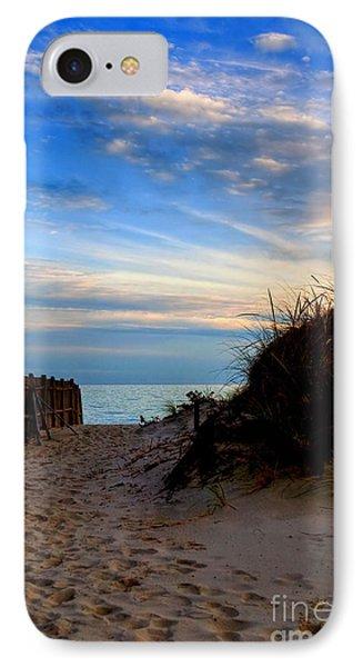 Dunes On The Cape Phone Case by Joann Vitali