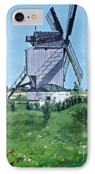 Dunkerque Windmill North Of France IPhone Case
