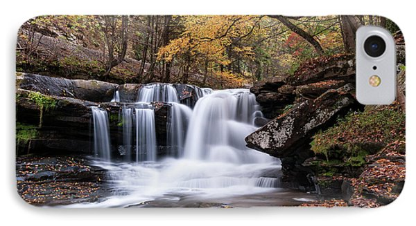 IPhone Case featuring the photograph Dunloup Falls - D009961 by Daniel Dempster