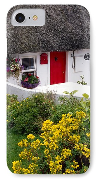Dunmore East Harbour, County Waterford IPhone Case by Richard Cummins