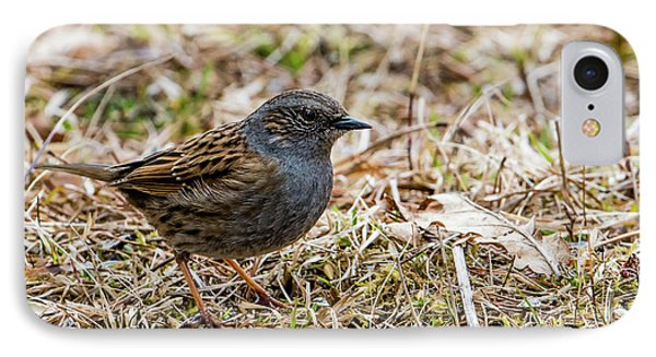 IPhone Case featuring the photograph Dunnock by Torbjorn Swenelius