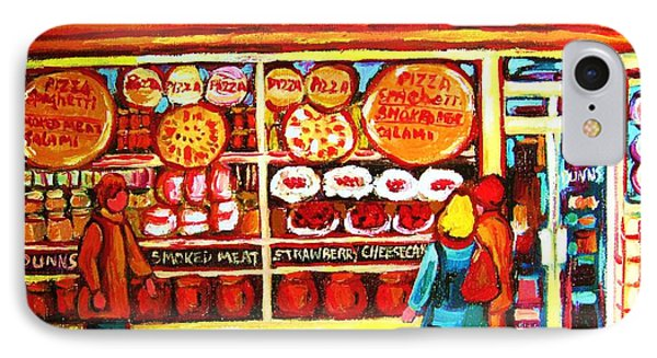 Dunn's Treats And Sweets Phone Case by Carole Spandau