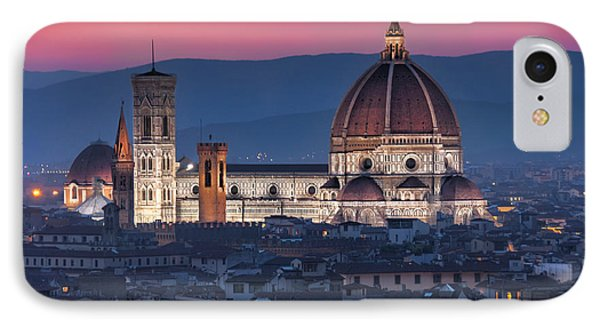 Duomo Di Firenze IPhone Case by Brent Durken