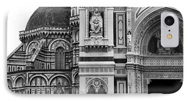 Duomo Florence 1b IPhone Case by Andrew Fare