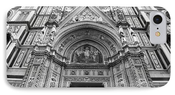 Duomo Florence 3b IPhone Case by Andrew Fare