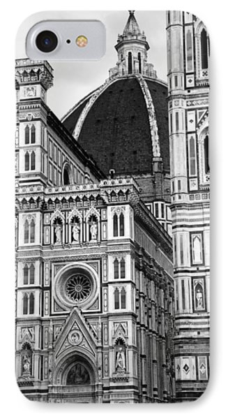 Duomo Florence 4b IPhone Case by Andrew Fare