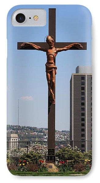 Duquesne Cross IPhone Case