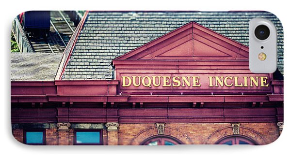 Duquesne Incline Of Pittsburgh Phone Case by Lisa Russo