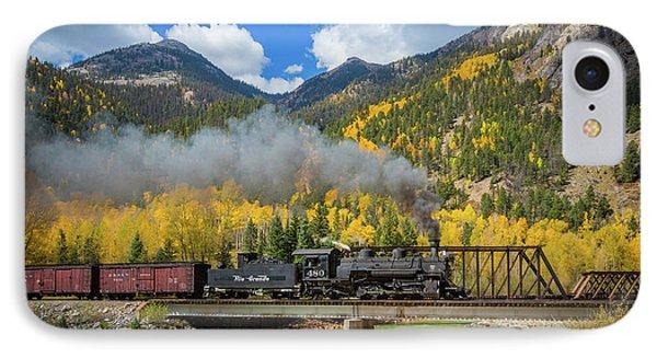 Durango-silverton Twin Bridges Phone Case by Inge Johnsson
