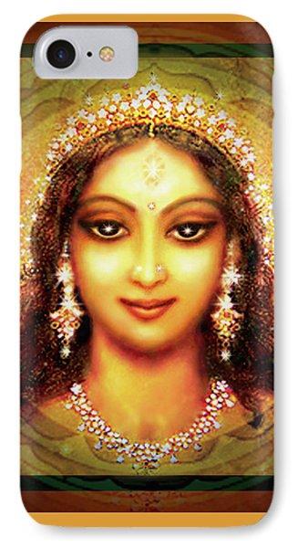 Durga In The Sri Yantra Phone Case by Ananda Vdovic