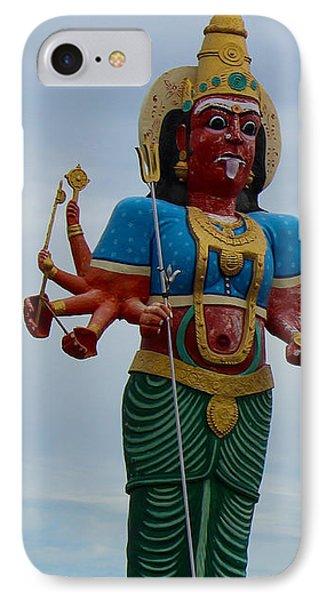 Durga On Route To Madurai IPhone Case
