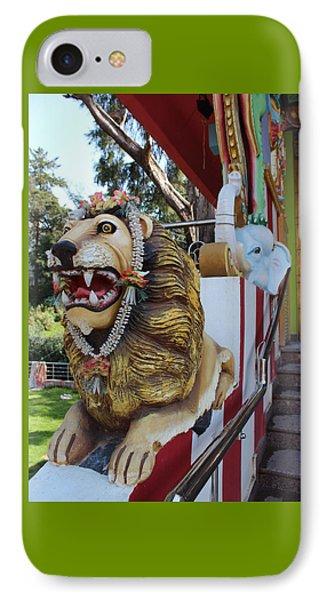 Durga's Lion IPhone Case