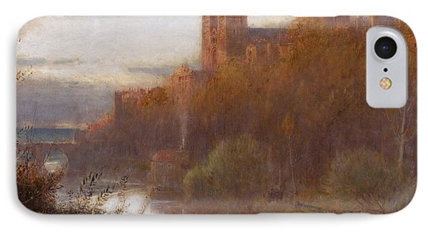 Durham Cathedral Phone Case by Albert Goodwin
