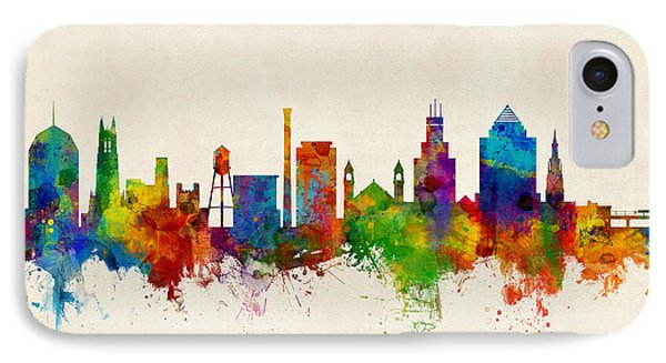 Durham North Carolina Skyline IPhone 7 Case