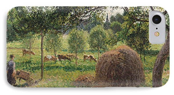 Dusk At Eragny IPhone Case