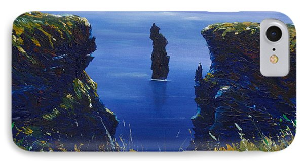 Dusk At The Devils Castle IPhone Case