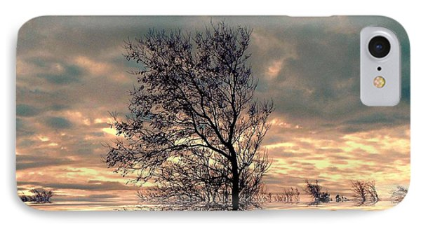 IPhone Case featuring the photograph Dusk by Elfriede Fulda