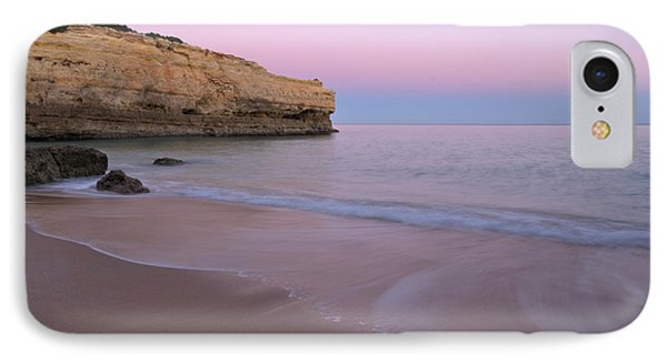 Dusk In Albandeira Beach IPhone Case by Angelo DeVal