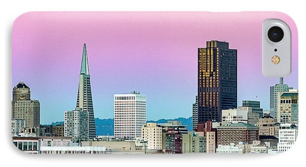 Dusk In San Francisco IPhone Case by Bill Gallagher