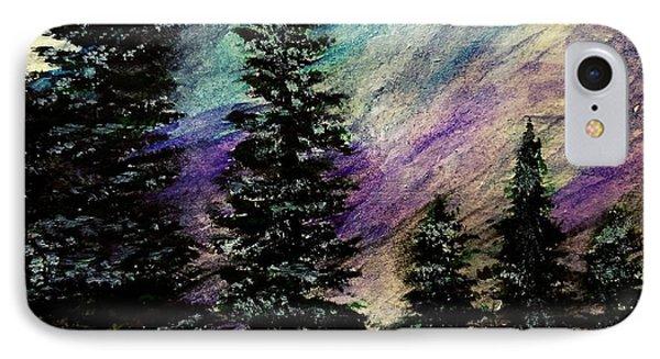 Dusk On Purple Mountain IPhone Case by Scott D Van Osdol