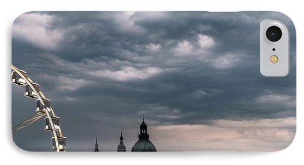 IPhone Case featuring the photograph Dusk Over Budapest by Alex Lapidus