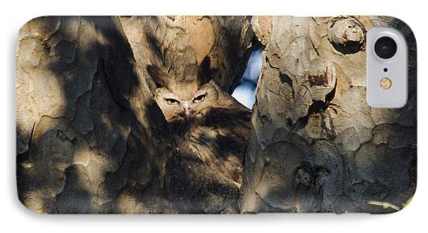 Dusky Horned Owl  IPhone Case