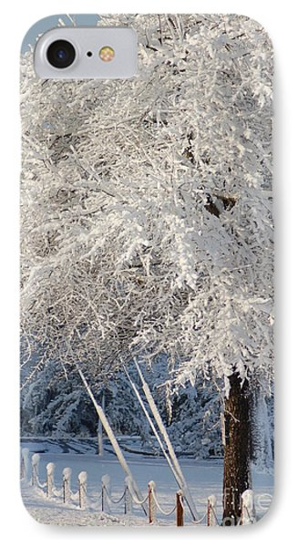 Dusted With Powdered Sugar IPhone Case by Donna Bentley