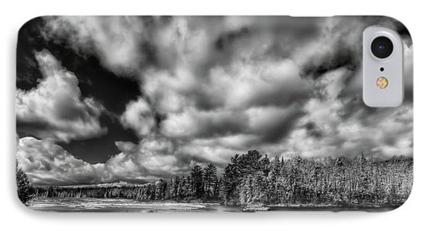 IPhone 7 Case featuring the photograph Dusting Of Snow On The River by David Patterson