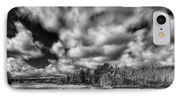 IPhone Case featuring the photograph Dusting Of Snow On The River by David Patterson