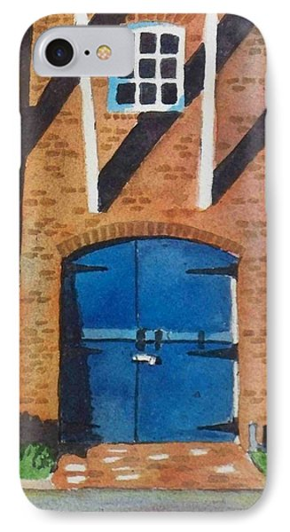 IPhone Case featuring the painting Dutch Door by LeAnne Sowa
